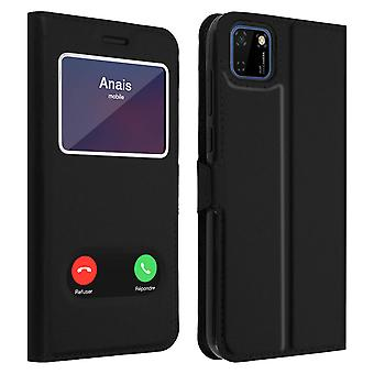 Back cover Huawei Y5p Integral Double Window Black