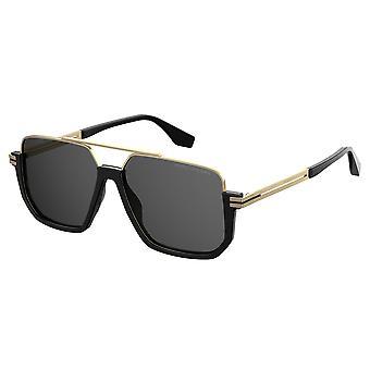Marc Jacobs Marc 413/S 2M2/IR Black-Gold/Grey Sunglasses