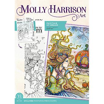 Crafter's Companion Molly Harrison Fairytale of Dreams Clear Stamps