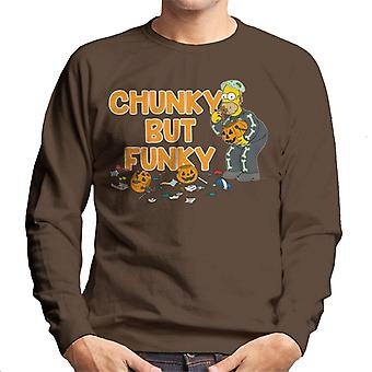 The Simpsons Chunky But Funky Halloween Homer Men's Sweatshirt