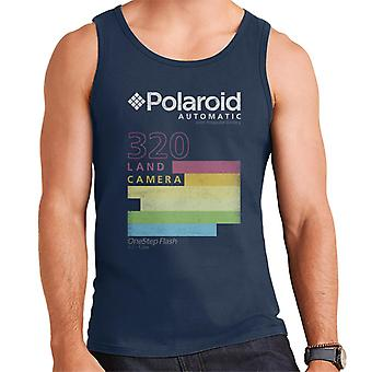 Polaroid Automaattinen 320 Värikäs Raidat Miesten & apos;s Liivi