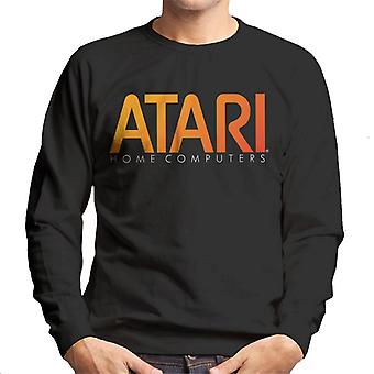 Atari Home Computer Orange Logo Men's Sweatshirt