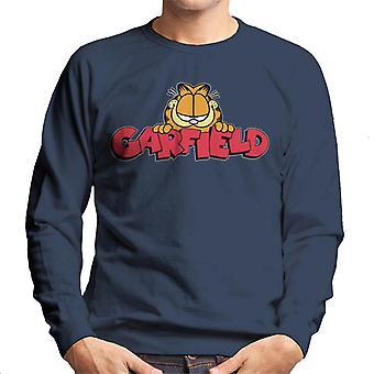 Garfield smile Classic logo mænd ' s sweatshirt