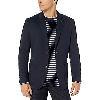 Essentials Men's Knit Sport Coat, Navy, XX-Large