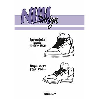 NHH Design Sneakers Clear Stamps