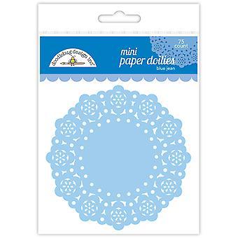 Doodlebug Design Blau Jean Mini Doilies (75pcs) (4603)