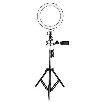 Selfie Lamp/Ring Light (26 cm), tripod and brackets