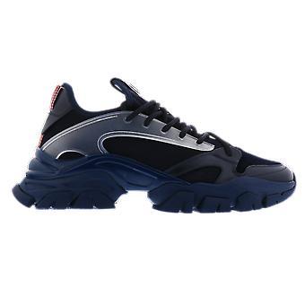 Moncler Trevor Low Top Sneakers Blue F209A4M71640778 shoe