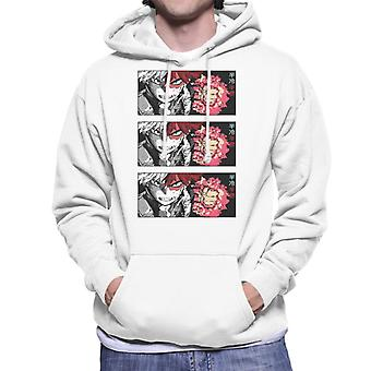 Shoto Todoroki Strip Men-apos;s Sweatshirt à capuchon