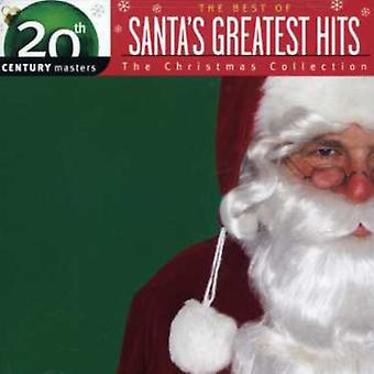 Santa's Greatest Hits: Christmas Collection-20th C - Santa's Greatest Hits: Christmas Collection-20th C [CD] USA import