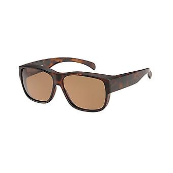 Óculos de Sol Conversão Unissex VZ-0045B marrom