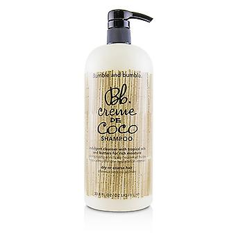 Hommels en Bumble Bb. Creme De Coco Shampoo (droog en grof Hair) 1000ml/33,8 oz