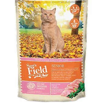 Sam's Field Senior (Cats , Cat Food , Dry Food)