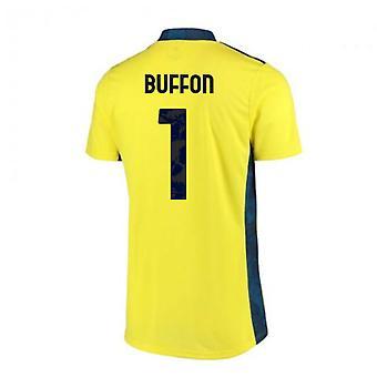 2020-2021 Juventus Home Adidas Keeper Skjorte (BUFFON 1)