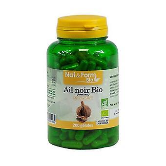 Organic Black Garlic 200 vegetable capsules