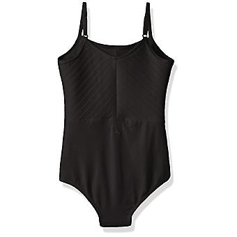 Danskin Girls-apos; Big Camisole Leotard, Rich Black,, Rich Black, Size Large (12/14