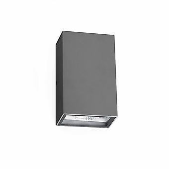 Faro Crata - LED Outdoor Wall Light Dark Grey IP54