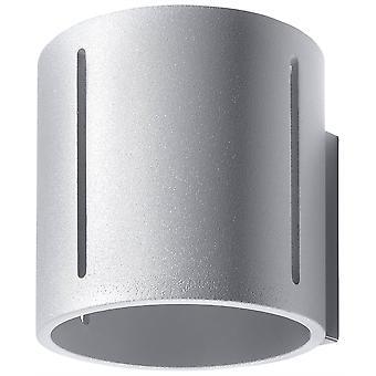 Sollux INEZ - 1 Light Flush Wall Light Grey, G9