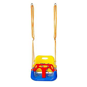 Indoor Outdoor Safe Healthy Swing For Baby Low Back Pe Plastic Basket Fun Crazy