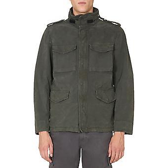 Aspesi Cg20l515ic85390 Hombres's chaqueta exterior de nylon verde