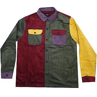 HUF Worldwide Shirts Cordon Block L /S Overshirt