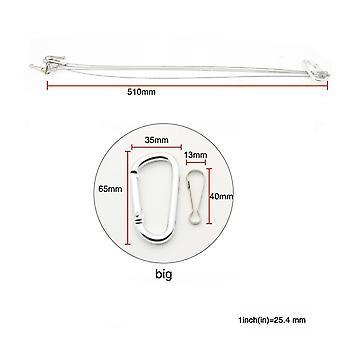 ضوء تعليق عدة -الفولاذ المقاوم للصدأ هانغ حبل هوك، كابل الصلب المجلفن،