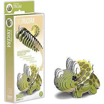 Eugy 3D Tricera Dinosaur Modèle Craft Kit