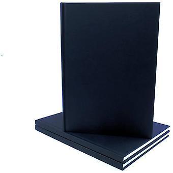 Seawhite All Media Cartridge Paper Casebound Cloth Cover Sketch Book A3 (Portrait)