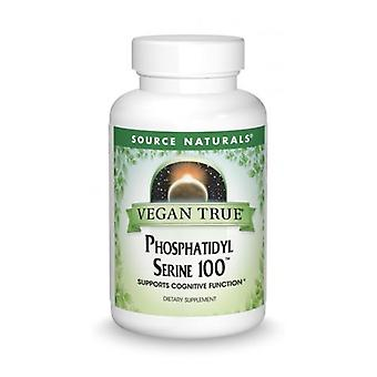 Fonte Naturals Phosphatidyl Serine 100, 100 mg, 30 Caps