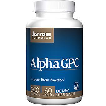 Jarrow Formulas Alpha Gpc, 300 mg, 60 Caps