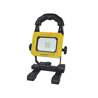 Faithfull Power Plus Rechargeable SMD LED Work Light with Magnetic Base 900 Lumens 10W