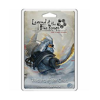 Legend of the Five Ring Masters of the Court the Card Game