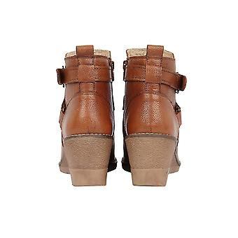 Lotus Petra Leder Stiefeletten in Tan