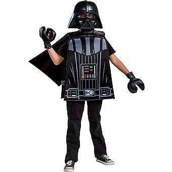 Boy's Darth Vader LEGO Basic Costume