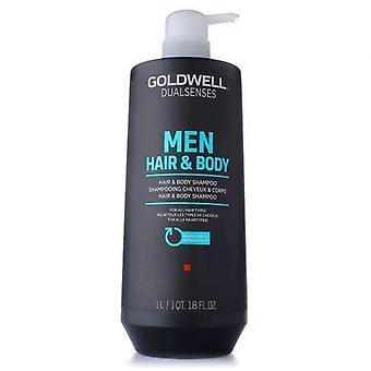 Goldwell Dual Senses Hombres Cabello & Champú Corporal 1000 ml