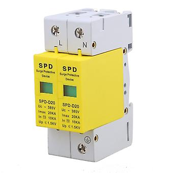 2P 10-20KA Din Rail Surge Protection Device SPD Arrester