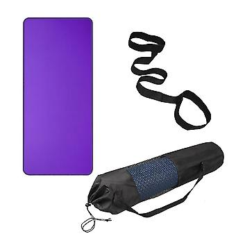 Homemiyn Thicken Yoga Mat Soft Portable Yoga Mat Non-slip With Backpack Strap And Bag