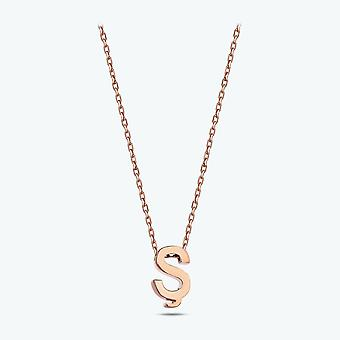 Letter Ş Gold Necklace