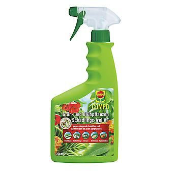 COMPO Green and Flowering Plants Pest-Free AF, 750 ml