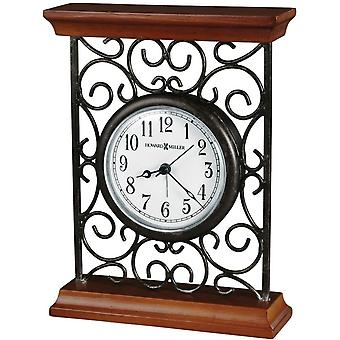 Howard Miller Mildred Tabletop Clock - Grey/Brown