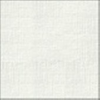 10 White Linen Silkweave Card Inserts 140 x 140