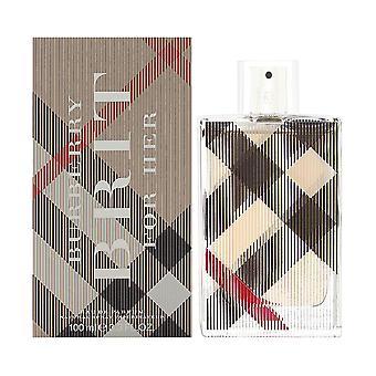 Burberry brit mennessä burberry naisille 3.3 oz eau de parfum spray