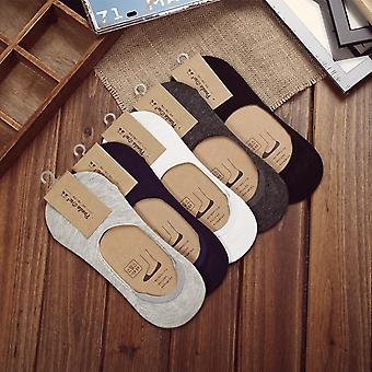 Nouvelles chaussettes d'été en silicone invisible en silicone anti-dérapage