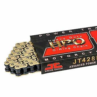JT HPO Motorcycle Chain 428 130 Daelim Derbi Hyosung
