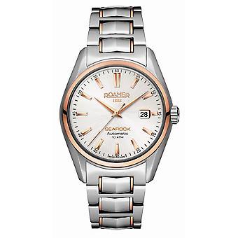 Roamer 210633 49 25 20 Searock Automatic White Dial Wristwatch
