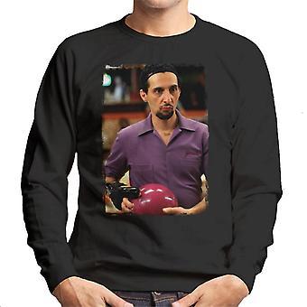 The Big Lebowski Jesus Bowling Men's Sweatshirt