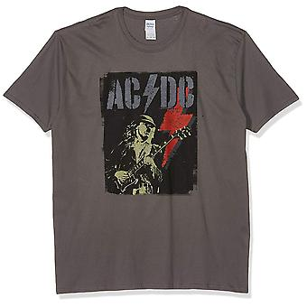 AC/DC Unisex Erwachsene Angus Flash Design T-Shirt