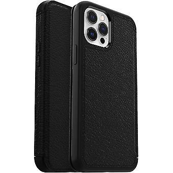 OtterBox Strada Series, Premium Leather Folio Case, Drop Proof Style for Apple iPhone 12 Pro Max