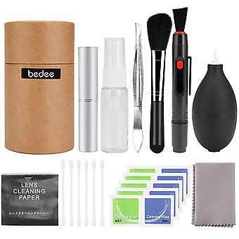 Bedee professional camera lens cleaning kit for optical lens and digital slr cameras including doubl