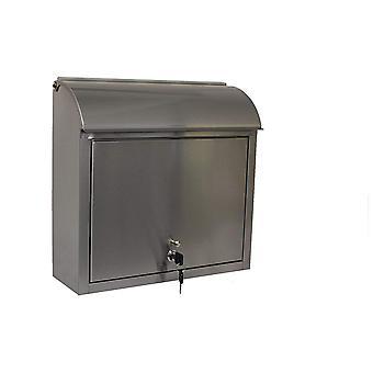 Compton Locking Mailbox, Acero Inoxidable